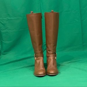 Michael Kors Arlen Leather Riding Boots